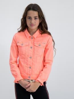 garcia denim jack m02451 oranje