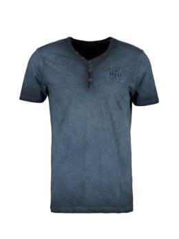 pilot t-shirt gestreept donkerblauw pp010403