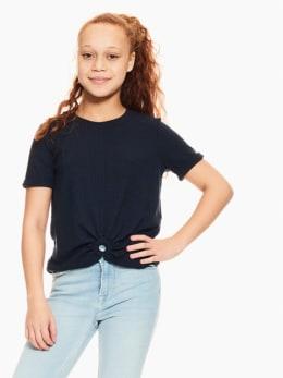 garcia t-shirt donkerblauw p02603
