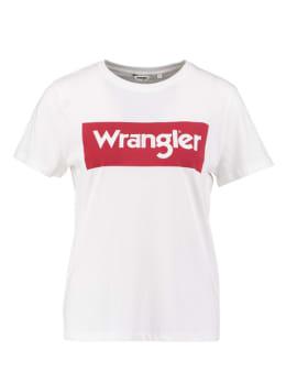 wrangler t-shirt wit logo tee