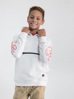 garcia hoodie n033665 wit