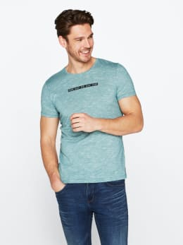 chief t-shirt gemêleerd pc010308 groen