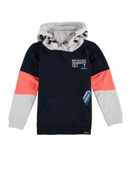 garcia hoodie met opdruk n05461 blauw