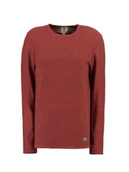 garcia trui met ronde hals gs910733 rood