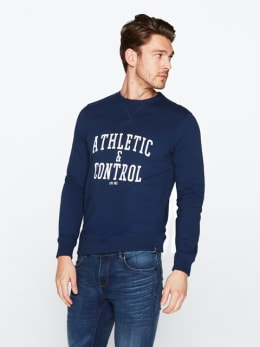 cars sweater donkerblauw control