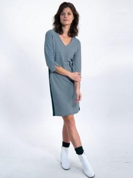 garcia jurk met allover print j90281 groen