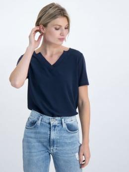 garcia t-shirt gs000102 donkerblauw