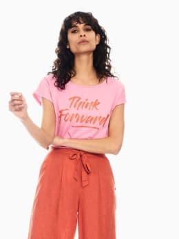 garcia t-shirt roze q00004
