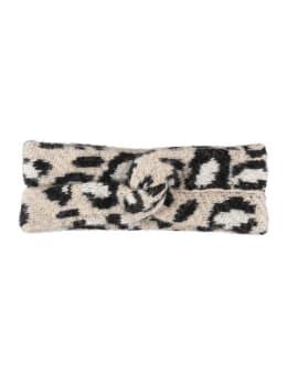 garcia panterprint hoofdband i90135 beige