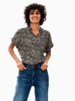 garcia blouse zwart s00034