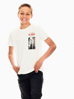 garcia t-shirt wit s03400
