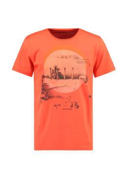garcia t-shirt korte mouwen e91003 rood