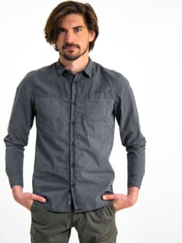 garcia overhemd h91230 grijs