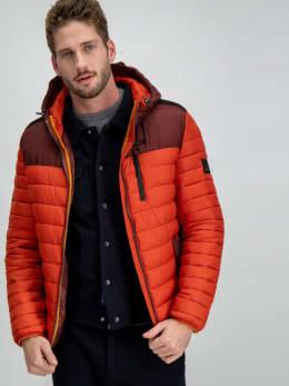 garcia puffer jas gj910912 rood-oranje