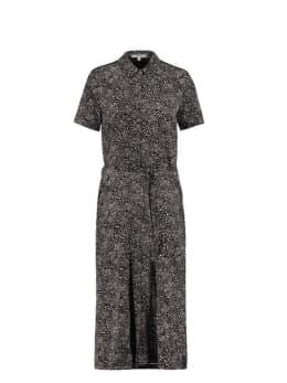 garcia midi-jurk zwart s00081