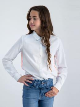 garcia blouse m02431 wit