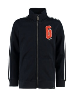 garcia vest met rits I95463 blauw