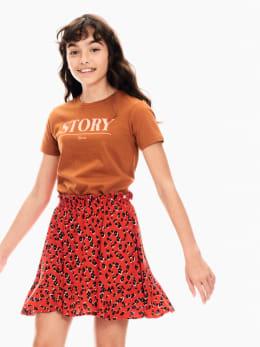 garcia t-shirt bruin t02601
