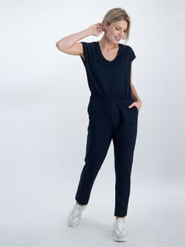 garcia jumpsuit o00083 donkerblauw
