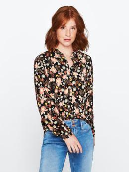 garcia blouse zwart pg000307