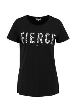 Yezz T-shirt Korte Mouw Fierce PY900306 Zwart
