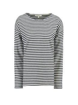garcia t-shirt gestreept h90215 blauw-wit