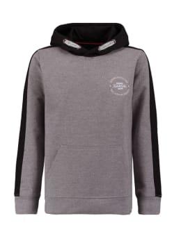 garcia trui grijs zwart gs030702