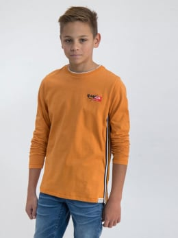 garcia long sleeve m03401 oranje