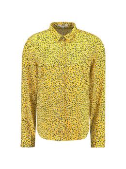 garcia blouse met print e90030 geel