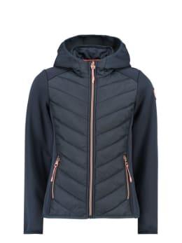 garcia puffer jas gj920809 donkerblauw