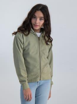 garcia vest met opdruk gs020102 groen