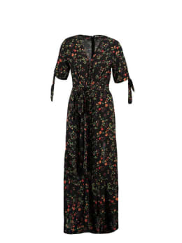 ambika jurk safae met bloemenprint