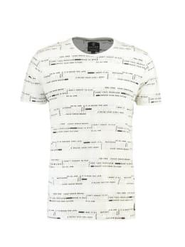 chief t-shirt met print PC910604 wit