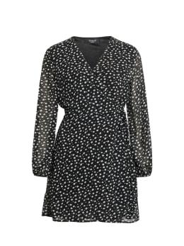 sisterspoint jurk zwart gobbi
