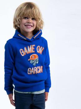 garcia hoodie met opdruk h95661 blauw
