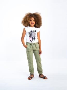 garcia t-shirt met opdruk o04603 wit