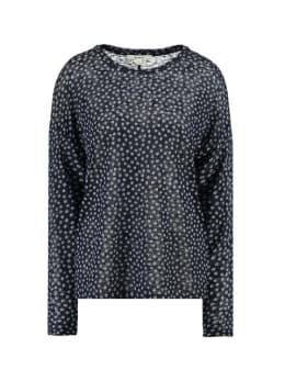 garcia t-shirt met print h90216 donkerblauw