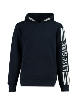 garcia hoodie going faster ge930901 blauw