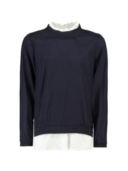 garcia blouse j92632 donkerblauw
