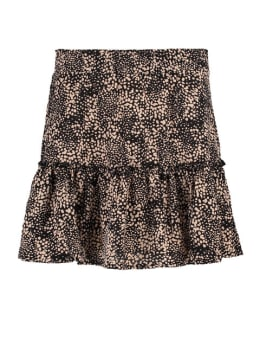 ambika rok hira zwart-bruin