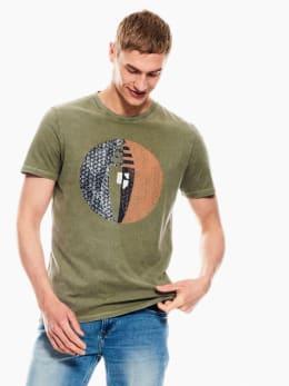 garcia t-shirt groen p01209