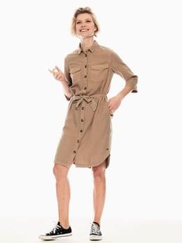 garcia jurk beige p00287
