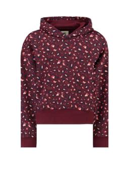 garcia panterprint hoodie i92463 rood