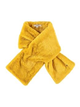 garcia fake fur sjaal i90131 geel