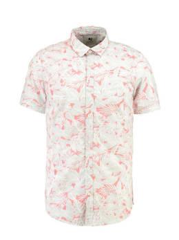 garcia overhemd korte mouwen GE910503 wit