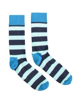 sokken Happy Socks Stripes Navy Light Blue men