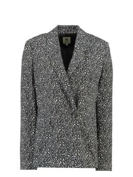 garcia panterprint blazer i90095 zwart