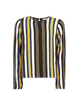 garcia blouse met strepen g92433