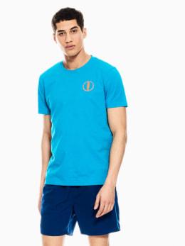 garcia t-shirt felblauw q01015