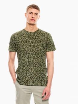 garcia t-shirt groen p01205